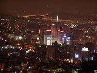 seoul city night scene 2