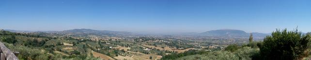 panorama Montefalco