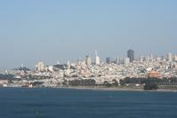San Francisco City from the Golden Gate Bridge