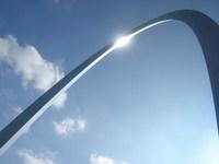 St. Louis Gateway Arch Closeup