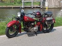 Antique motorbike