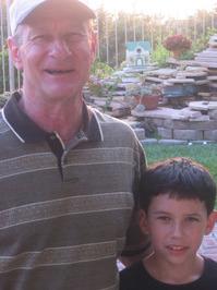 Adam and his Grandpa