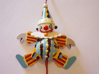 Clown of wood 2