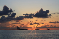 Sunset at Key West 2