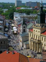 Krakowskie Przedmiescie Street in Lublin