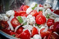 Summer Bocconcini & Tomato salad