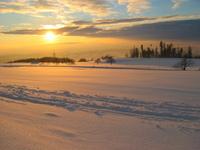 A winter's sunset