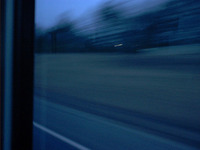 greyhound bluegreen blur