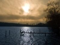 Sunset @ Schwanenwerder/Berlin