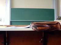 chalkboard at university