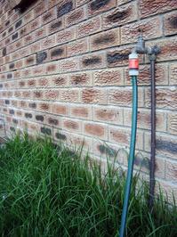 garden tap & hose