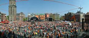 Queens day Groningen