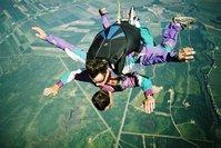 Parachute jump 1