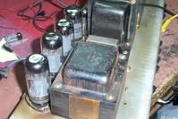 old amplifier valves