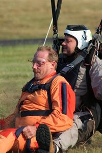 Tandem Skydive Landing 5