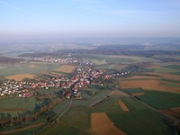 Landscape from balloon