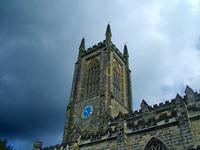 stormy church