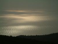 Sunset on the Tyrrhenian Sea
