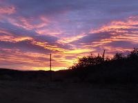 Arizona sun rise