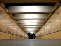 Tunnel in spainish underground
