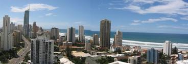 Gold Coast Skyscrapers Australia Panoramic