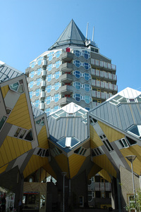 Modern architecture Rotterdam