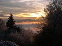 Valley Fog Sunset