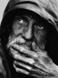 Pensive Homeless Portraiture II
