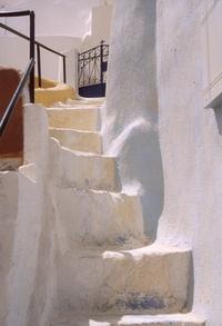 Santorini stair