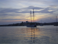 Sunset at Curacao