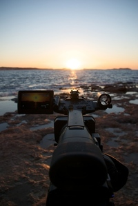 Sunset, camera video, atardecer, camara de video 2