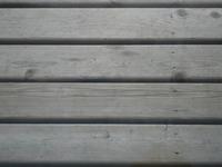 2x4 aged wood deck