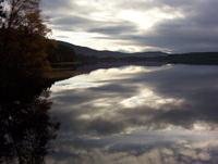 loch garten in Scotland