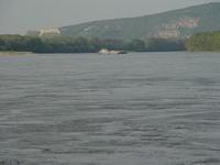 The Dunaj (Danube) river near Bratislava