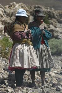 Bolivian women