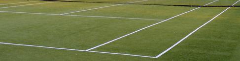 evening tennis court