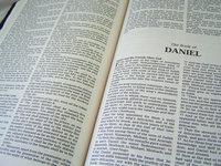 Closeup of the Bible