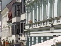 Houses in Bratislava center