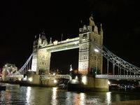 London Tower Brigde at night 1