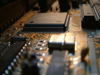 Motherboard and chip