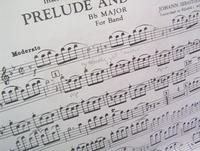 Sheet Music: Bach