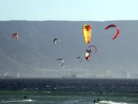 Kiteboarding in Cape Town