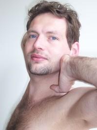 Husband posing for art class 2