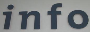 Information Sign - Ottawa International Airport