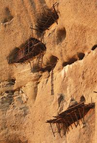 monk's caves in Meteora