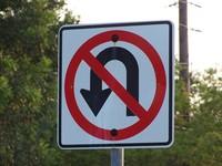 No U Turn