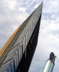 Berllin Financial District Mirror