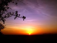 When the sun fell down
