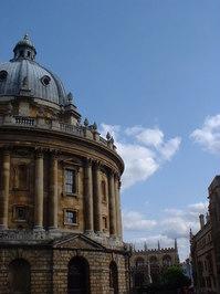 Radcliffe Camera, Oxford, side