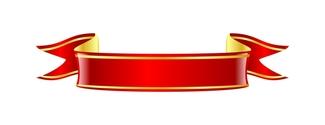 Scrolling Ribbon Banner